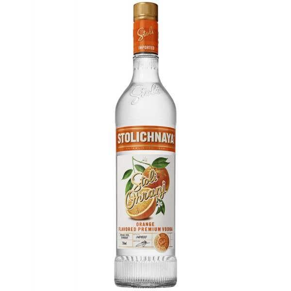 Vodka  Stolichnaya Naranja  - 750 ml