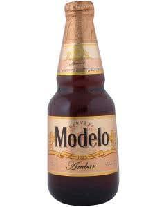 Cerveza Modelo Ambar Botella - 355 ml