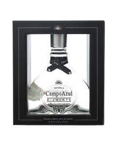 Tequila Campo Azul Diamante Añejo Cristalino - 750ml