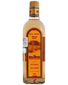 Mezcal El Recuerdo de Oaxaca Con Gusano Joven 750 ml