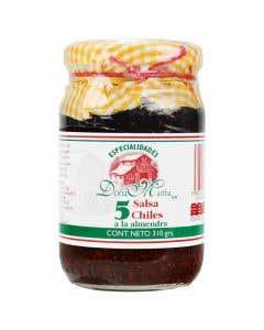 Salsas Especialidades Doña Martha 5 Chiles 310 grs