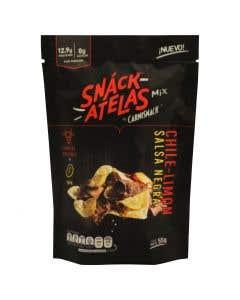 Botana Snackatelas Chile y Limón Salsa Negra - 55 g