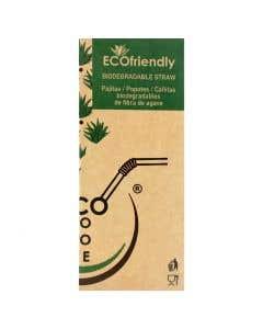 Popote de Agave Ecopopote - 1 caja