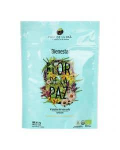 Té Flor de la Paz Bienestar Cedrón 100% Orgánico - 27 grs