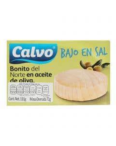 Bonito del Norte en Aceite de Oliva Bajo en Sal - 120 g