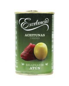 Aceitunas Rellenas de Atún Excelencia - 300 grs