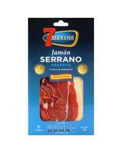 Jamon Serrano Loncheado 7 Hermanos - 100 gr