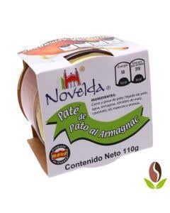 Pate De Pato Al Armagnac Novelda  - 110 g