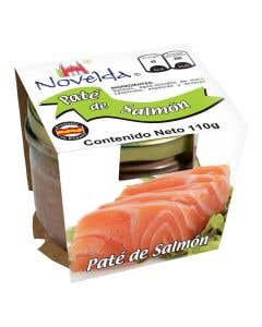 Pate De Salmon Novelda 110 grs