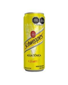 Agua Tonica Schweppers 355 ml Lata