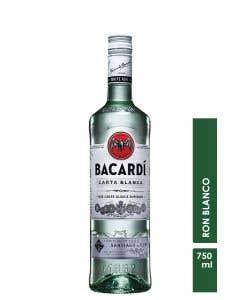 Ron Bacardi Blanco  750 ml