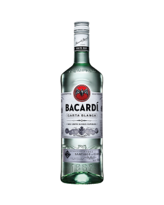 Ron Bacardi Blanco  980 ml