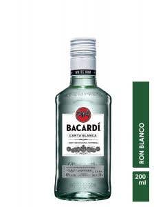 Ron Bacardi Blanco  200 ml
