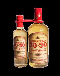 Tequila 30-30 Duo Reposado - 1000 ml /375 ml