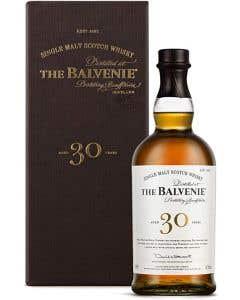 Whisky The Balvenie Escocés Single Malt  30 Años -700 ml