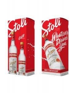 Vodka Stolichnaya 750 ml + Stolichnaya 375 ml