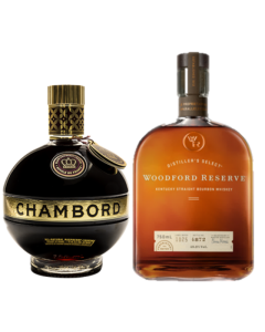 Whiskey Woodford Reserve Double Oaked - 700ml + regalo licor Chambord - 750 ml