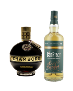 Whisky Benriach Heart Of Speyside - 700ml + regalo Licor Chambord - 750 ml