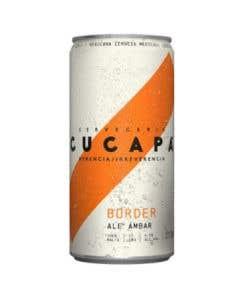 Cerveza  Cucapa Border Ambar Ale Lata 269 ml