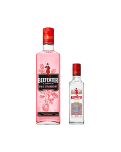 Gin Beefeater  pink 700 ml + Beefeater  Dry 350 ml
