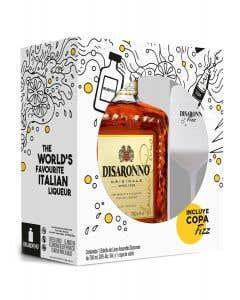 Licor Amaretto Disaronno + copa