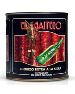 Chorizo El Gaitero a La Sidra Ext Ahumad 750 g