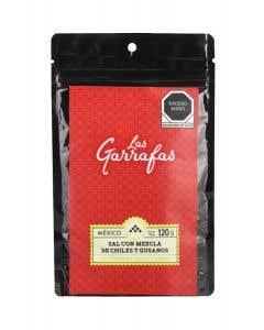 Sal de Gusano chile/limón Las Garrafas 120 g