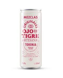 Agua Mineral con Mezcal Ojo de Tigre toronja - 355 ml