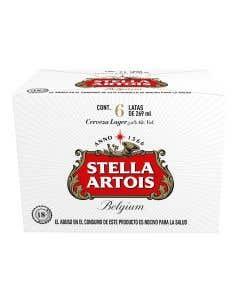 Cerveza Stella 6 pack  - 269 ml