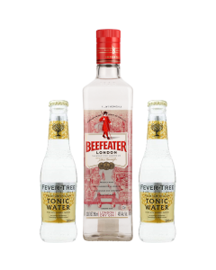 Gin Beefeater 750 ml + 2 aguas Fever Tree