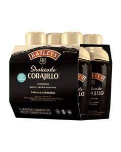 Licor Corajillo Baileys 4 Pack 100 ml C/U
