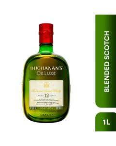 Whisky Buchanan's Deluxe 12 Años - 1L