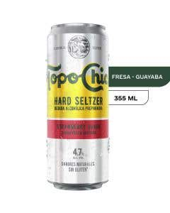 Hard Seltzer Topo Chico Fresa - 355 ml