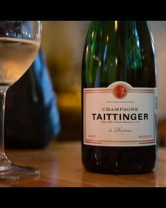 Cena maridaje en casa con Champagne Taittinger