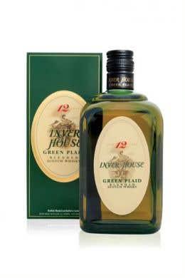 Inver House Green Plaid 12 Yr 700 ml